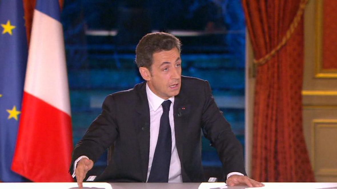 Prezident Nicolas Sarkozy