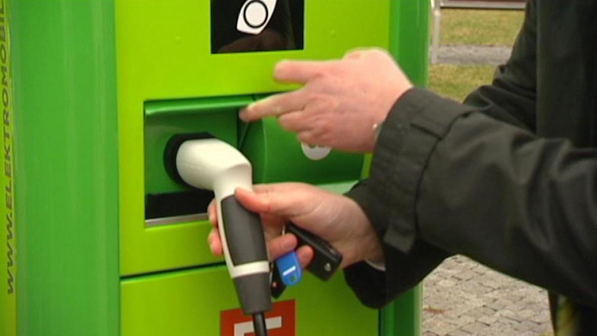 Dobíjecí stanice pro elektromobily Ostravě