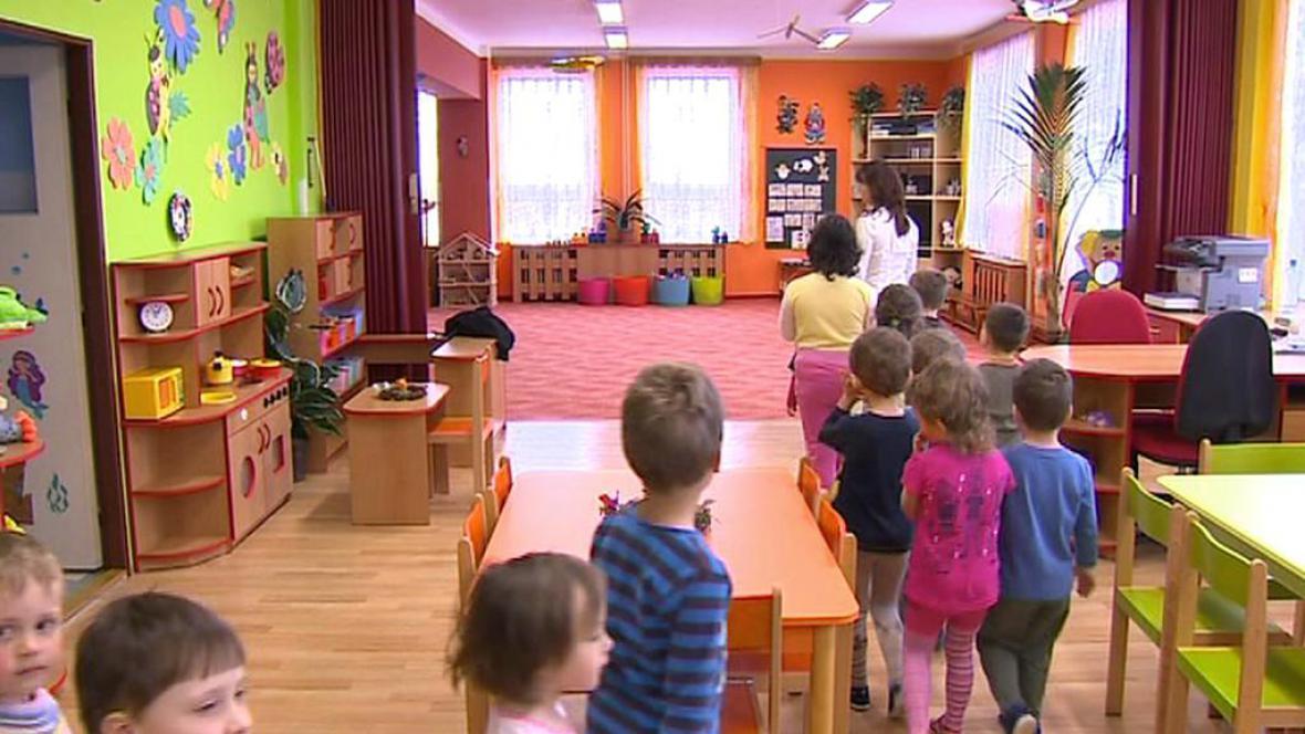 Nově opravená školka v Chrášťanech