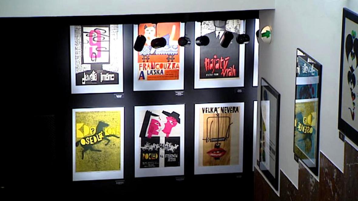 Výstava filmových plakátů Jiřího Hilmara