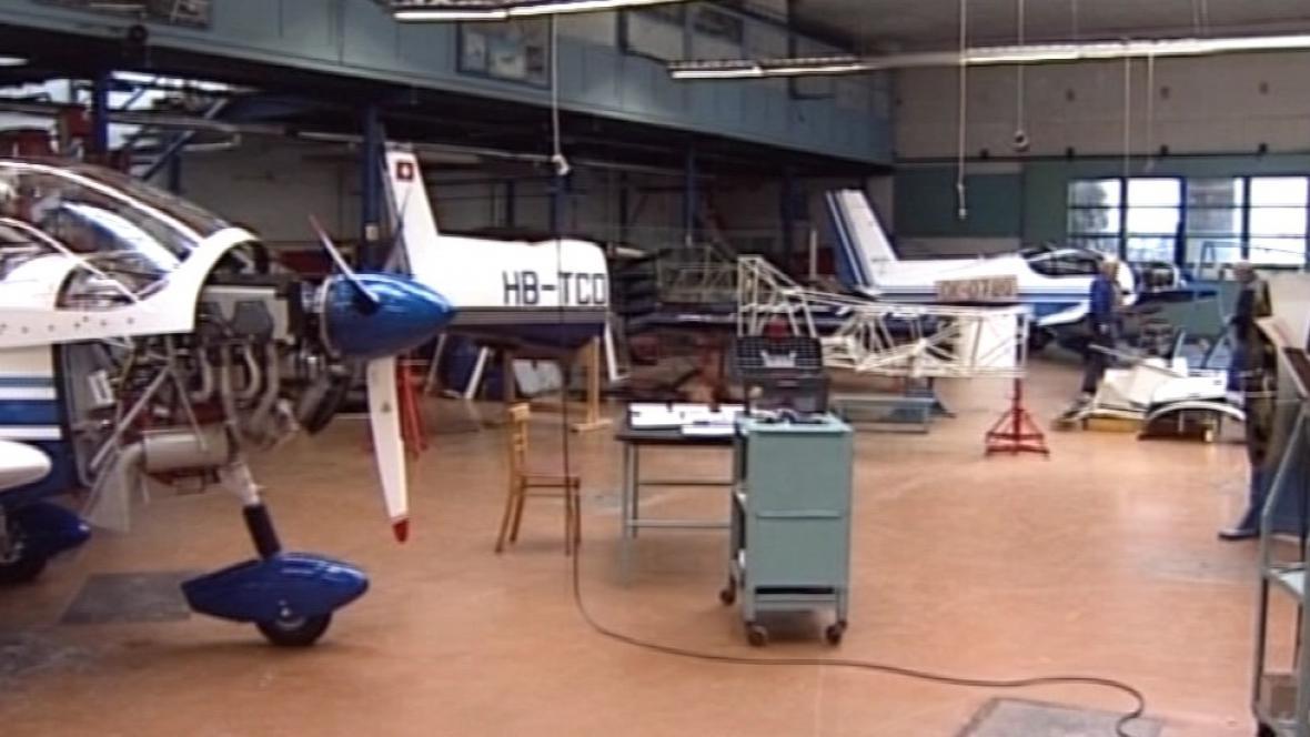 Výroba letadel