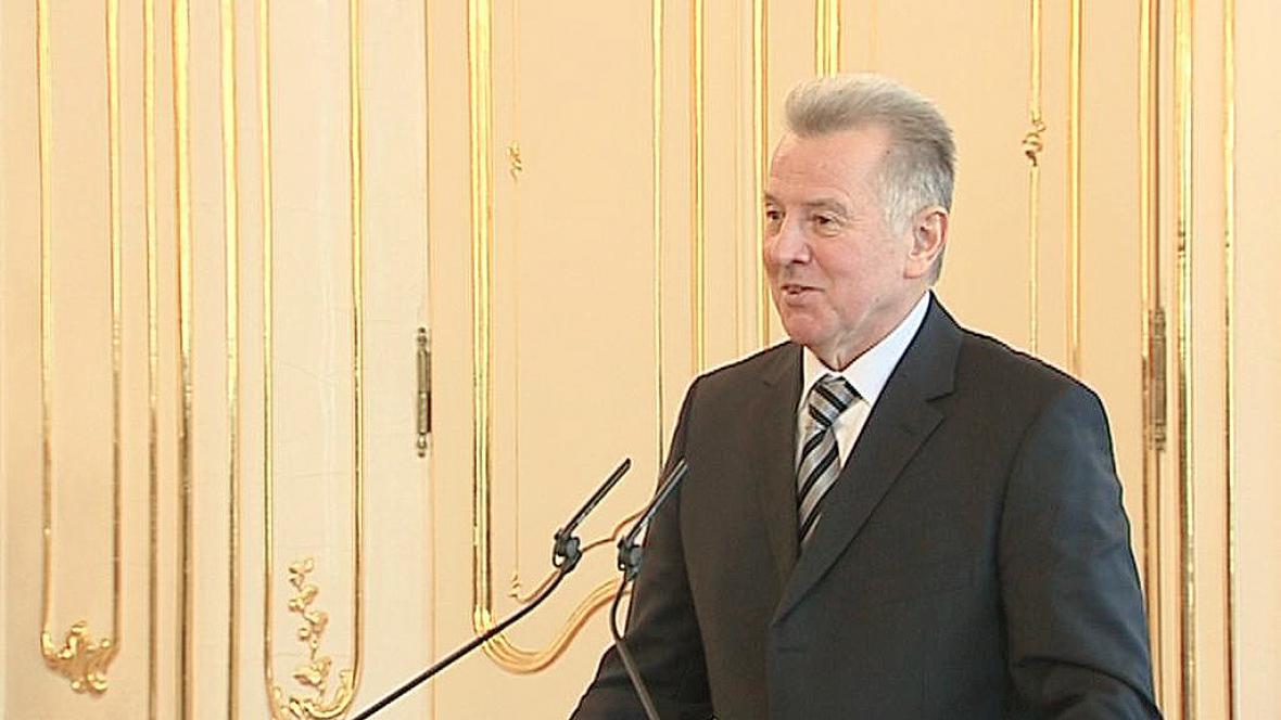 Maďarský prezident Pál Schmitt