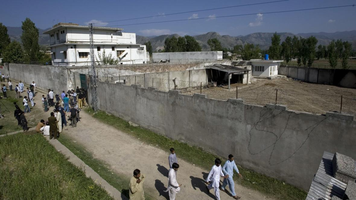 Usámovo sídlo v Abbottábádu