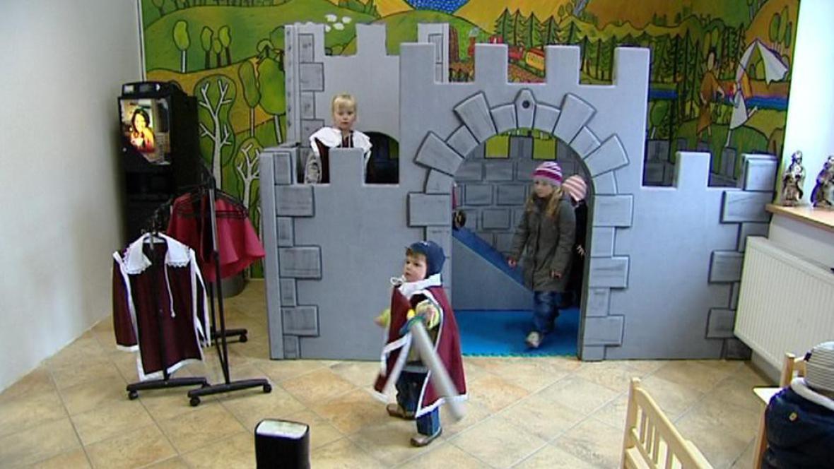 Dětští návštěvníci na hradu a zámku Bečov