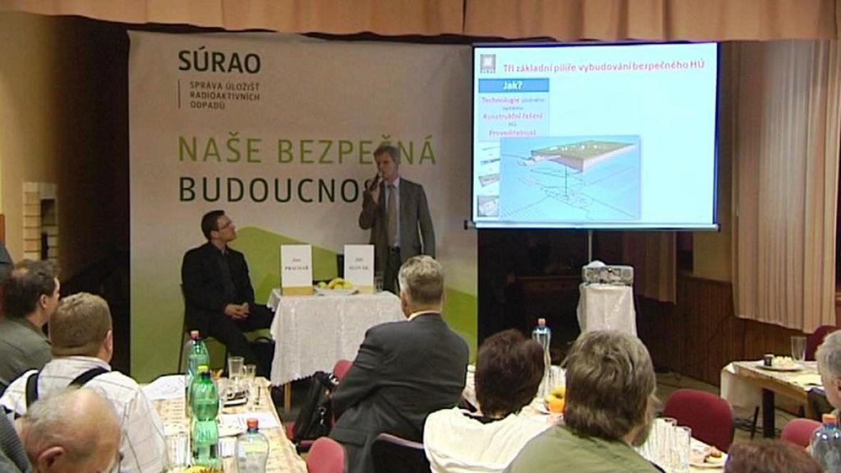 Jednání o úložišti radioaktivního odpadu