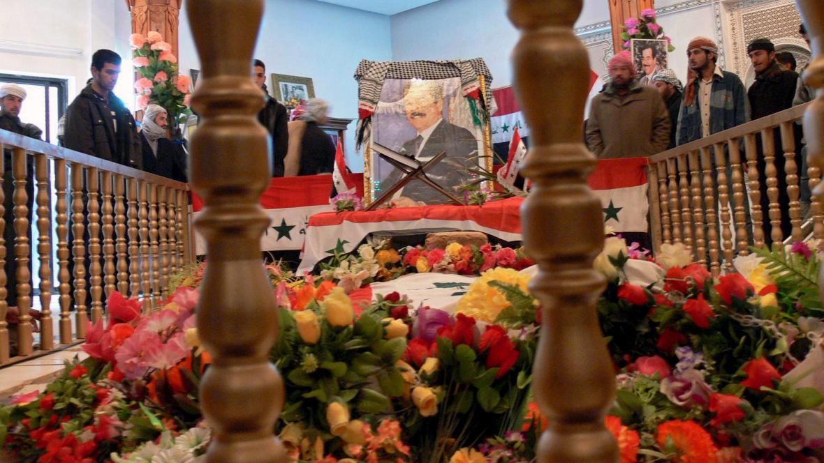 Hrob Saddáma Husajna