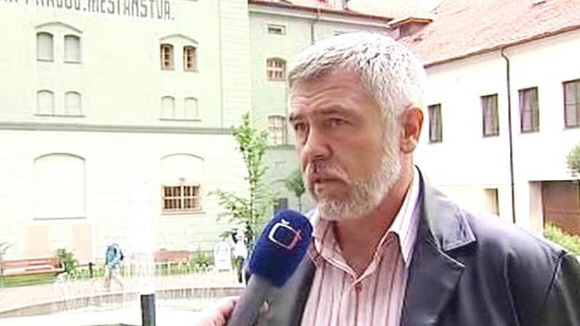 Bývalý rektor Miroslav Krejča