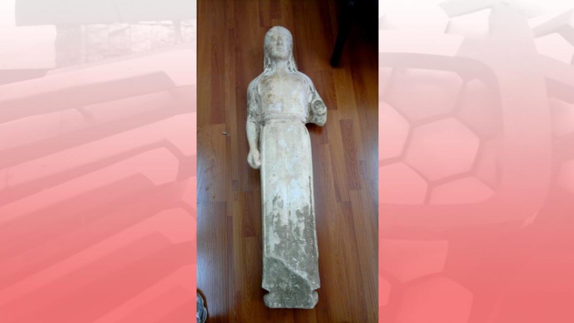 Ukradená antická socha