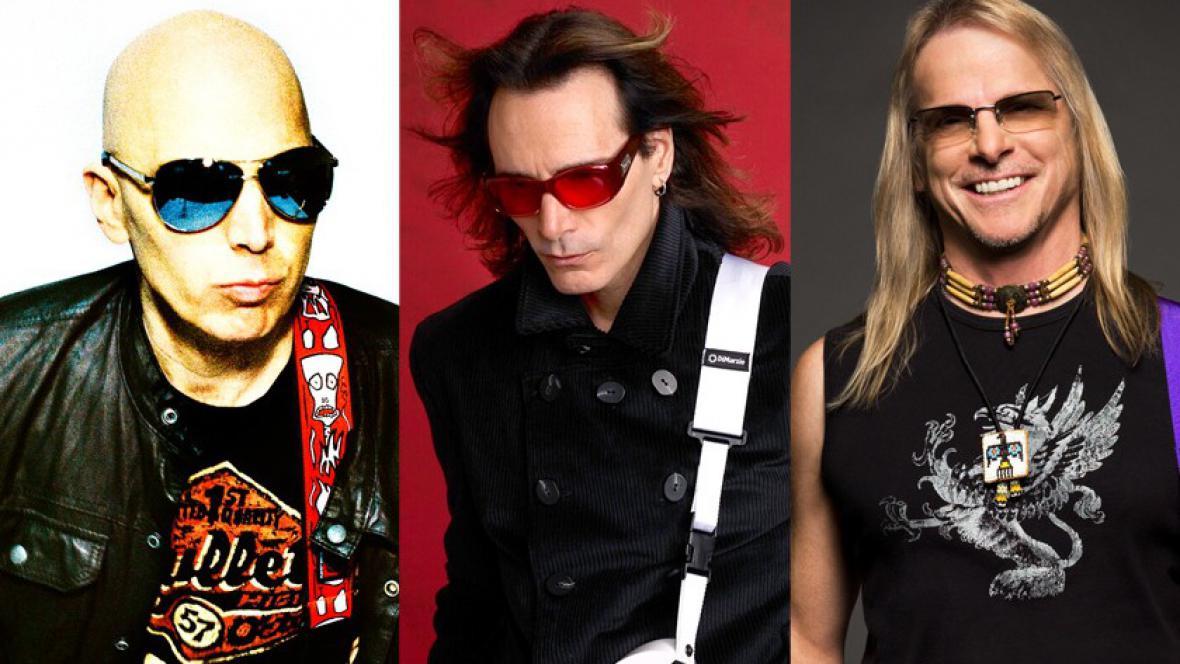 Joe Satriani, Steve Vai a Steve Morse alias G3
