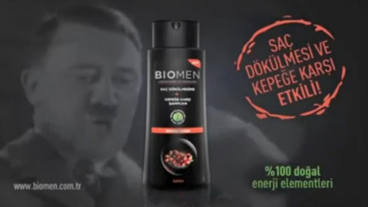 Turecká reklama s Hitlerem pohoršila Židy