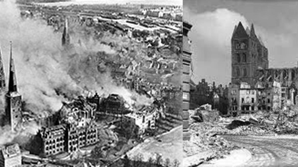 Bombardování v Lübecku