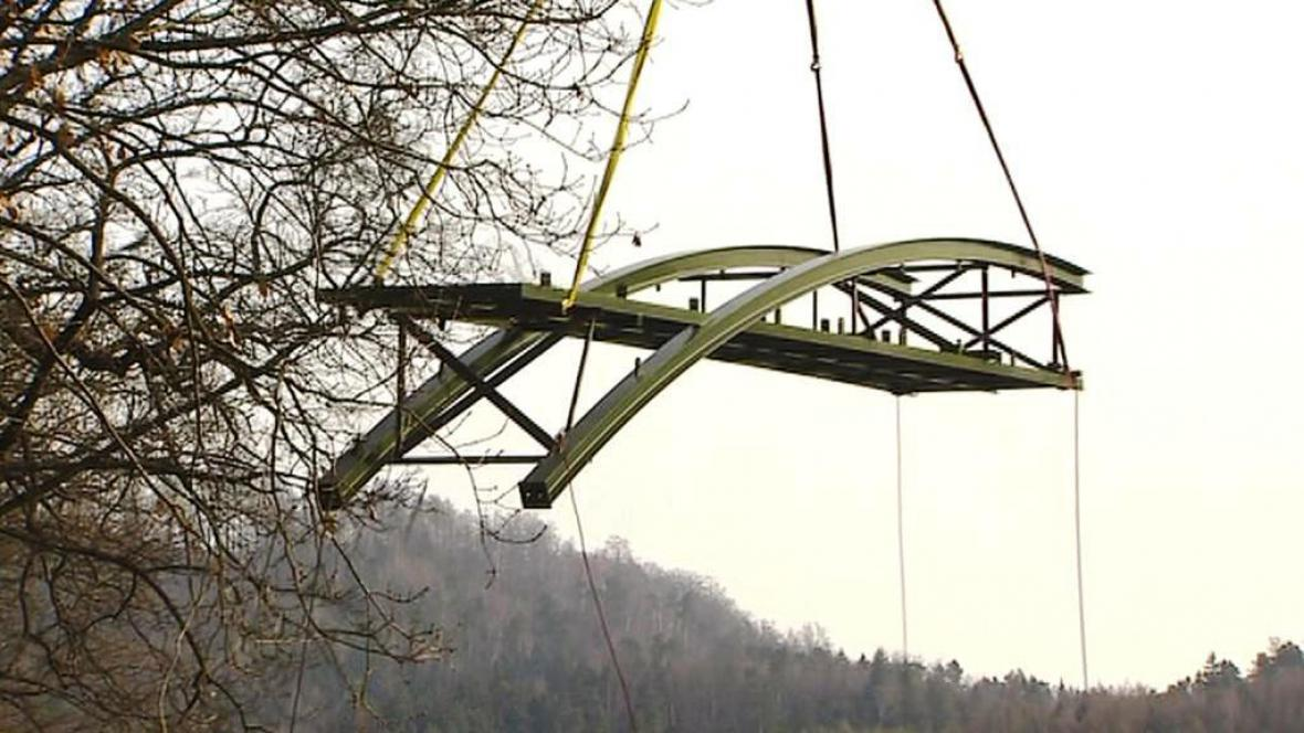 Transport nového mostu