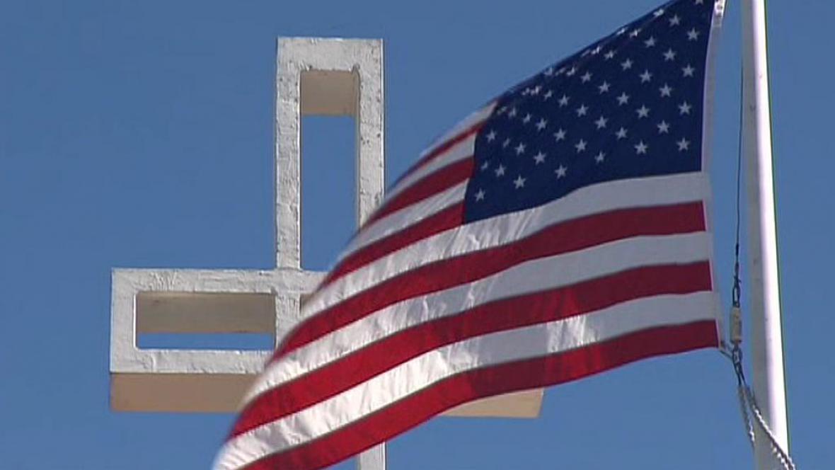 Kříž v USA