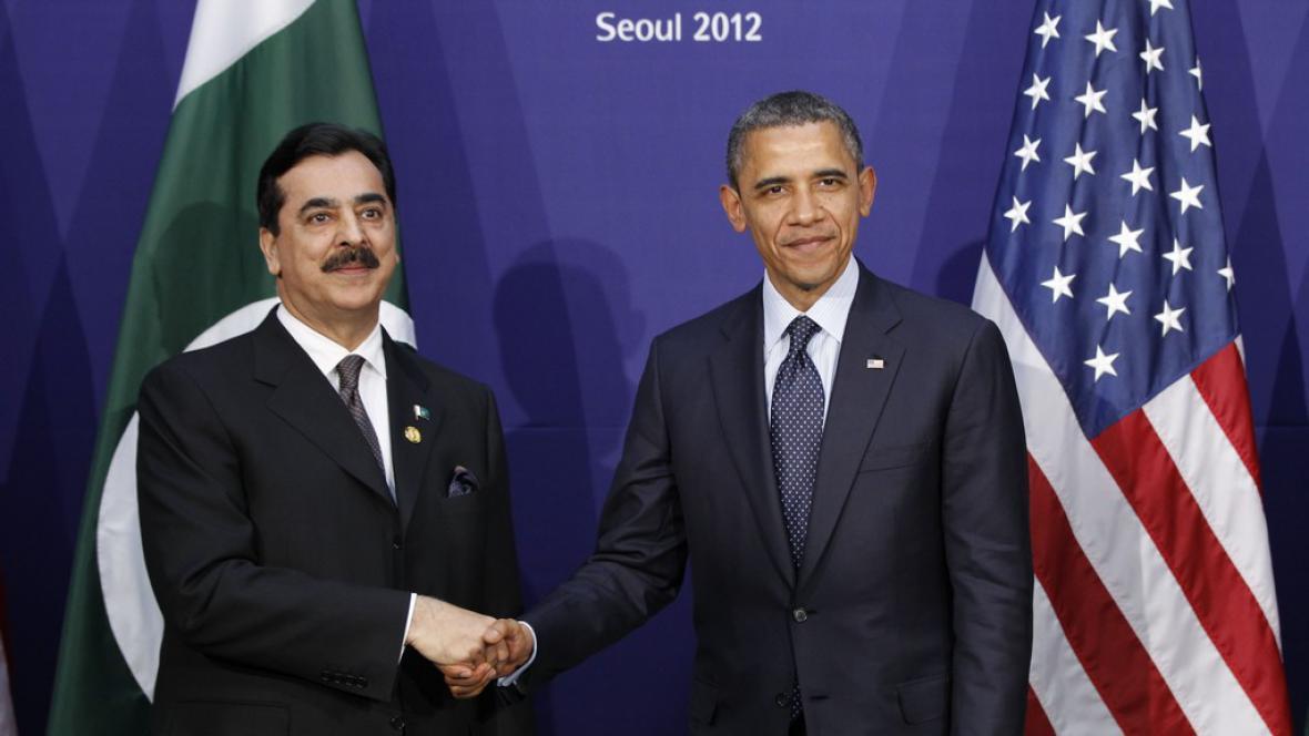 Júsuf Ráza Gilání a Barack Obama