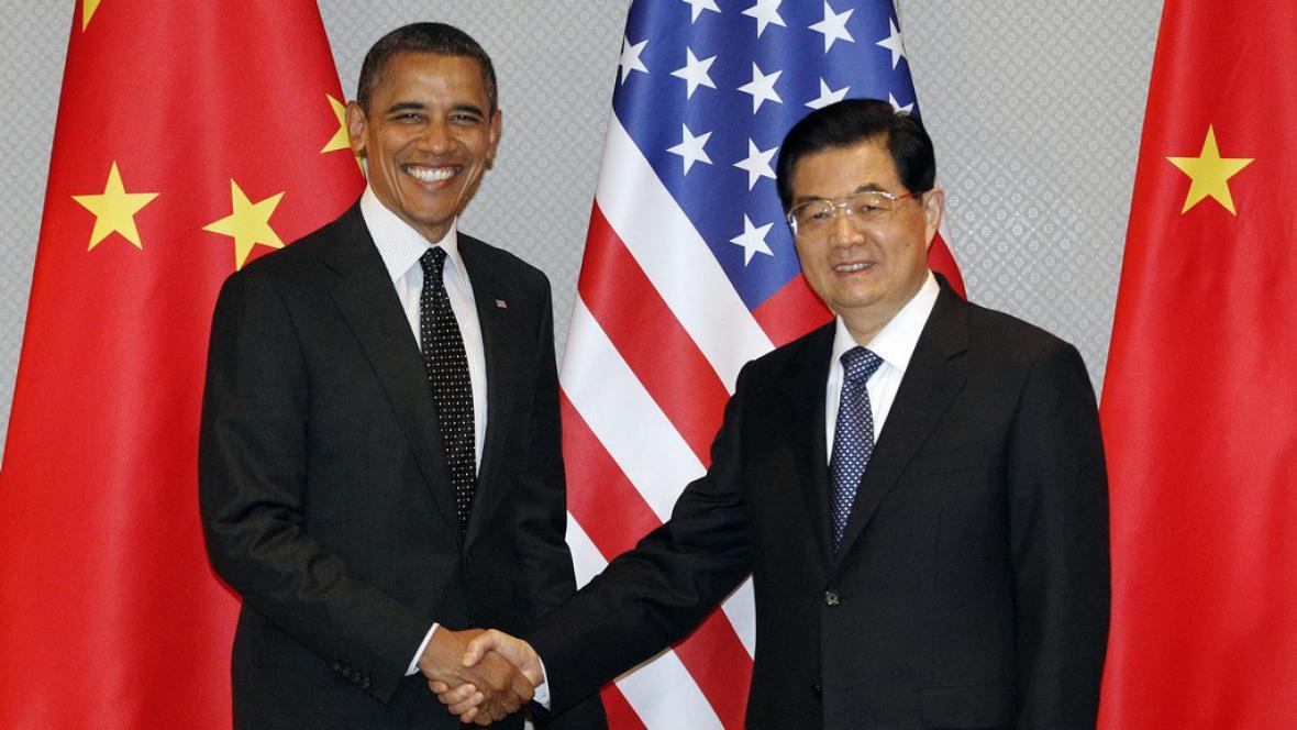 Barack Obama a Chu Ťin-tchae