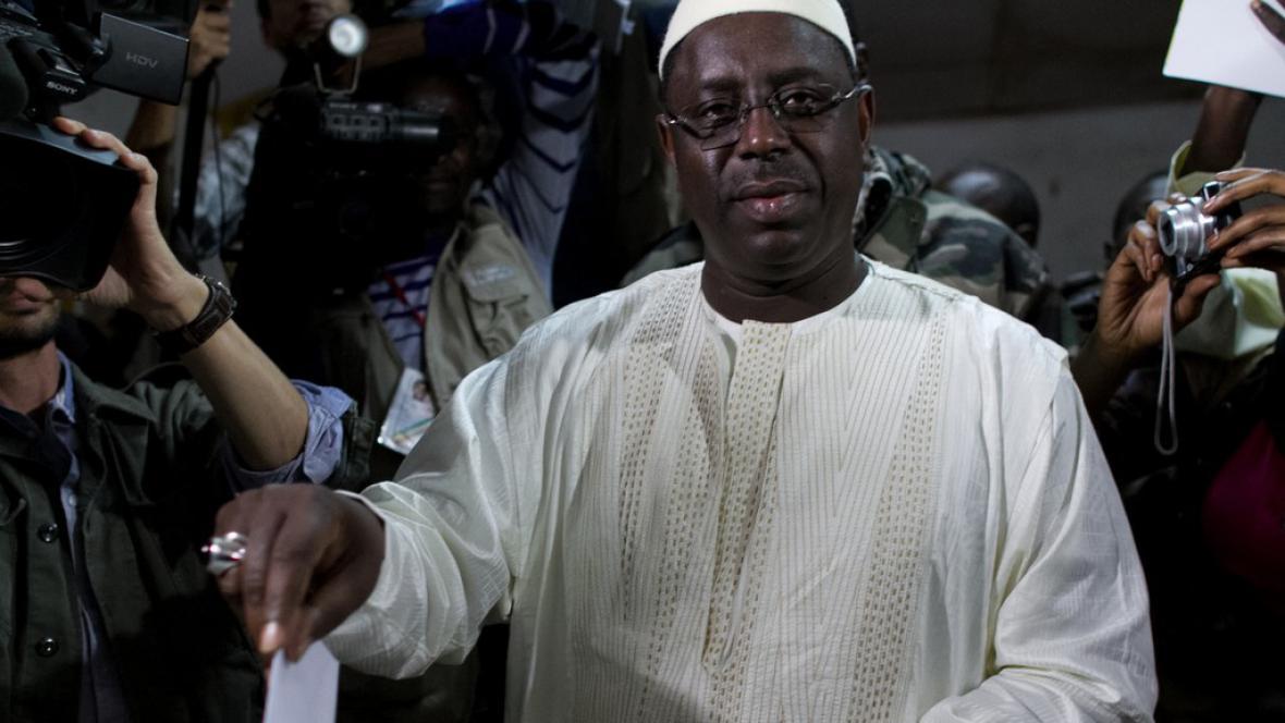 Bývalý premiér a vítěz prezidentských voleb Macky Sall