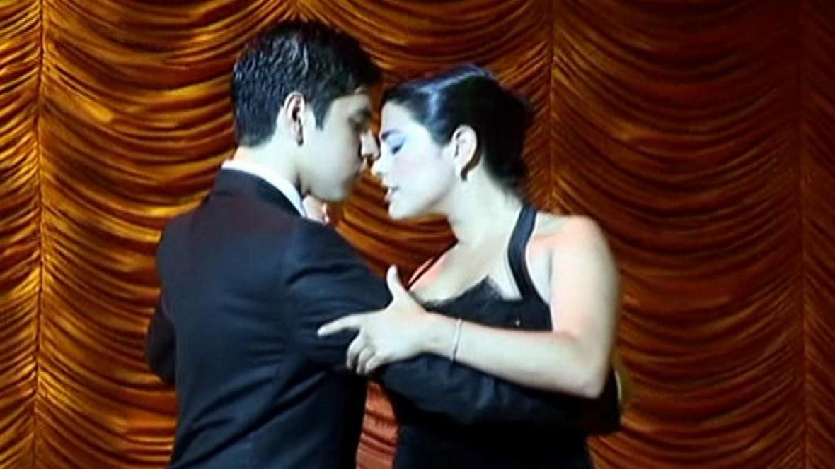Tanečníci tanga