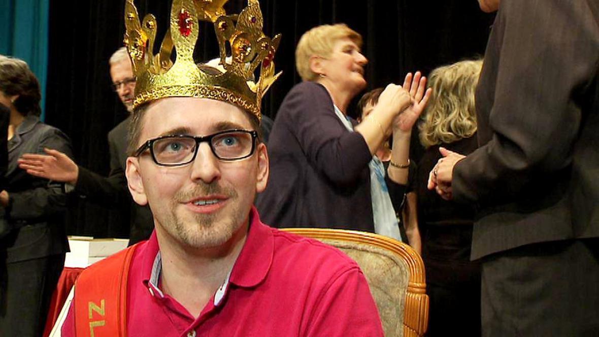 Nejoblíbenější učitel roku 2012 Michal Mikláš