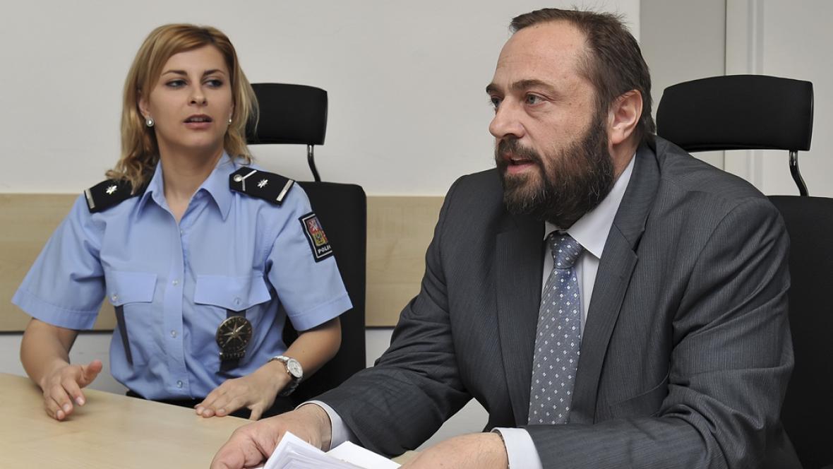 Brněnský kriminalista Luděk Blahák informoval o objasnění 15 let staré vraždy