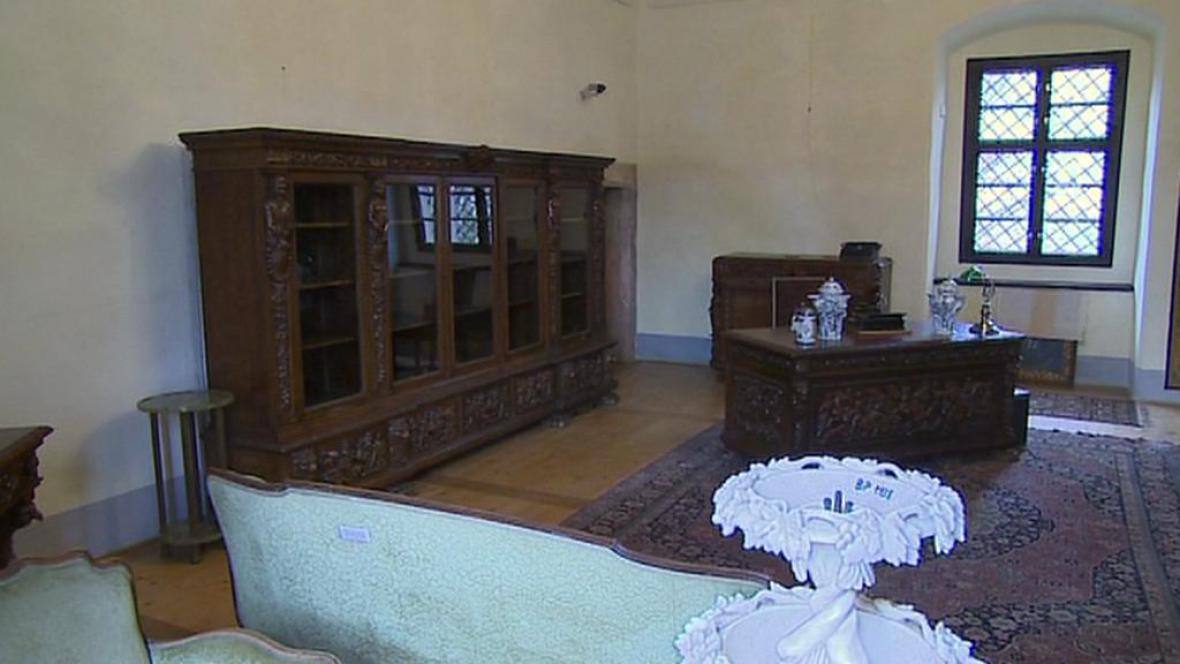 Expozice zámku Benešov nad Ploučnicí