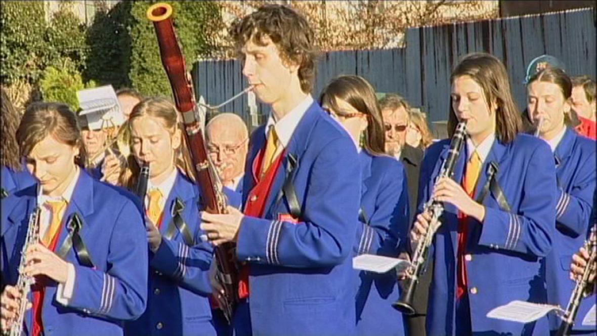 Pohřeb dirigenta Karla Dospivy