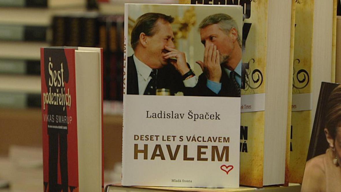 Ladislav Špaček / Deset let s Havlem