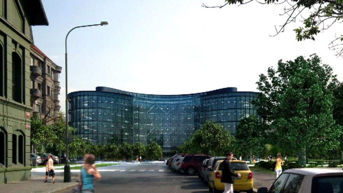 Vizualizace administrativního centra