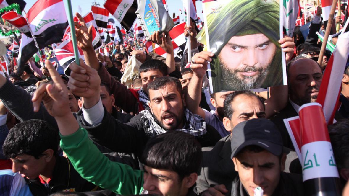 Demonstrace v Basře