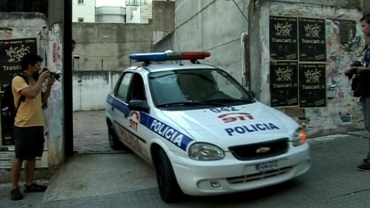 Policie v Uruguayi