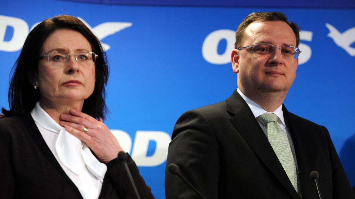 Občanští demokraté si vyberou kandidáta na Hrad v primárkách