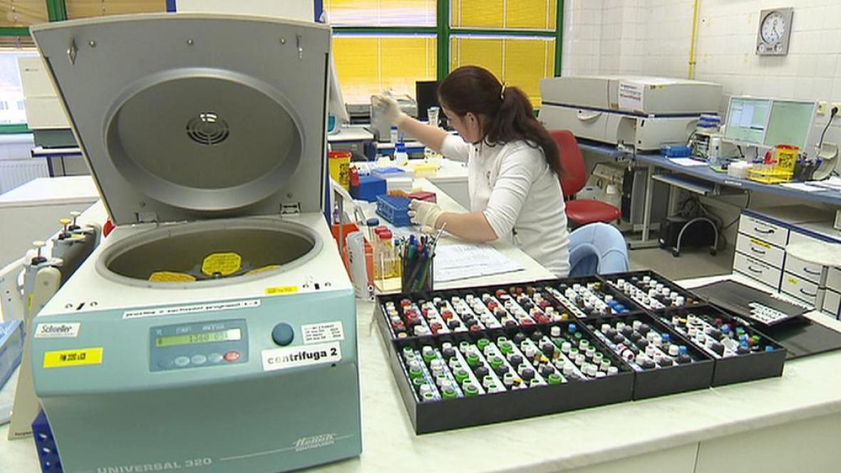 Zpracování krevních vzorků