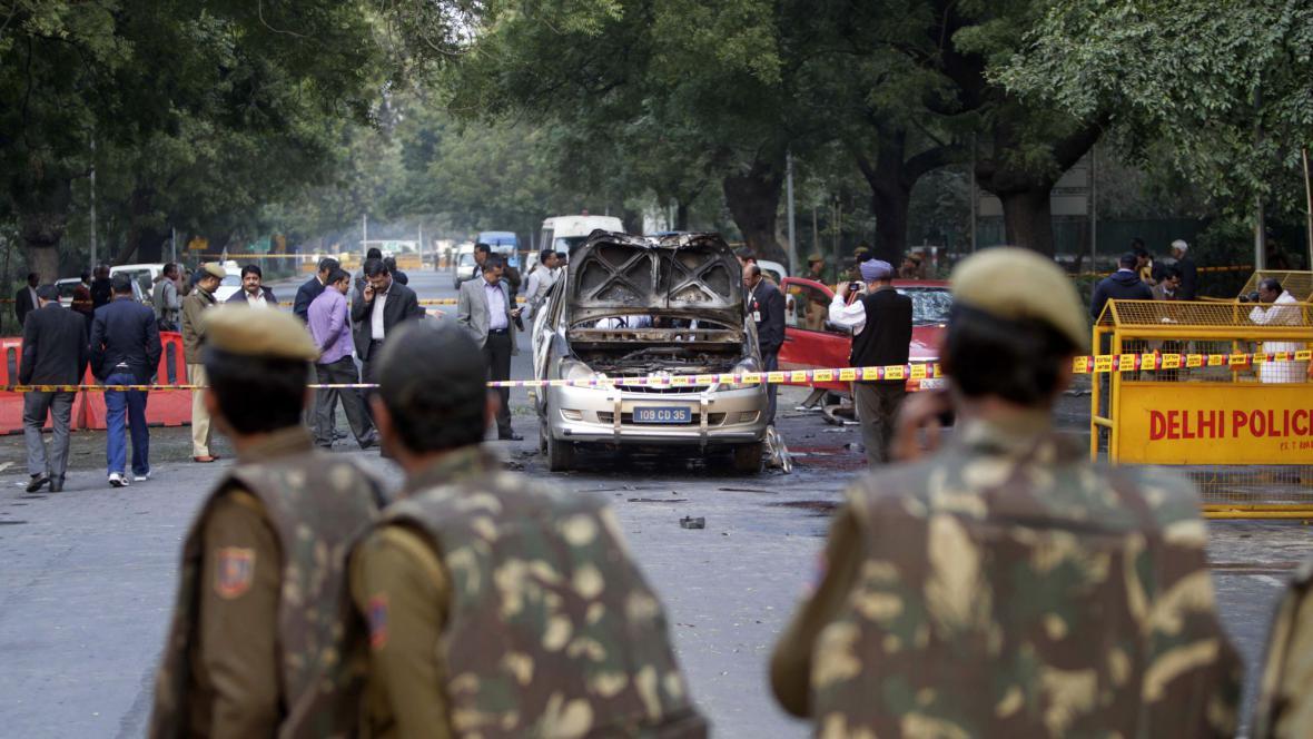 Útok na izraelskou ambasádu v Indii