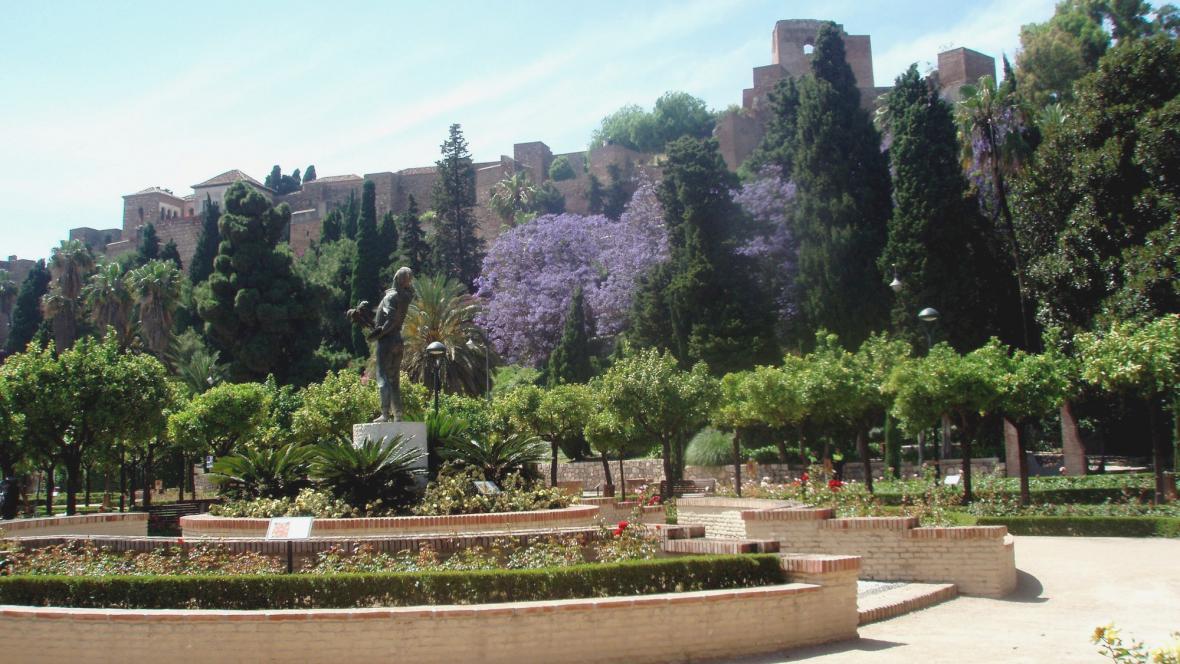 Alcazaba a Gibralfaro