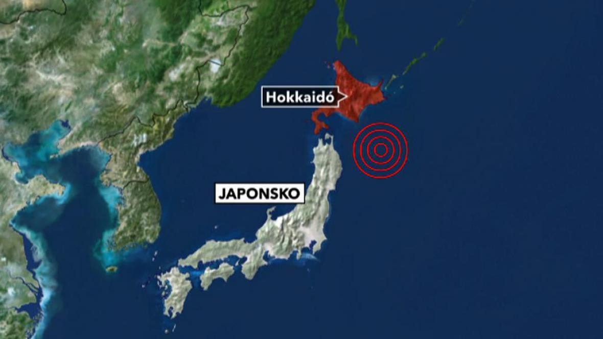 Zemětřesení u Japonska
