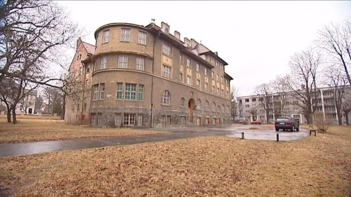 Budova bývalé porodnice v Opavě