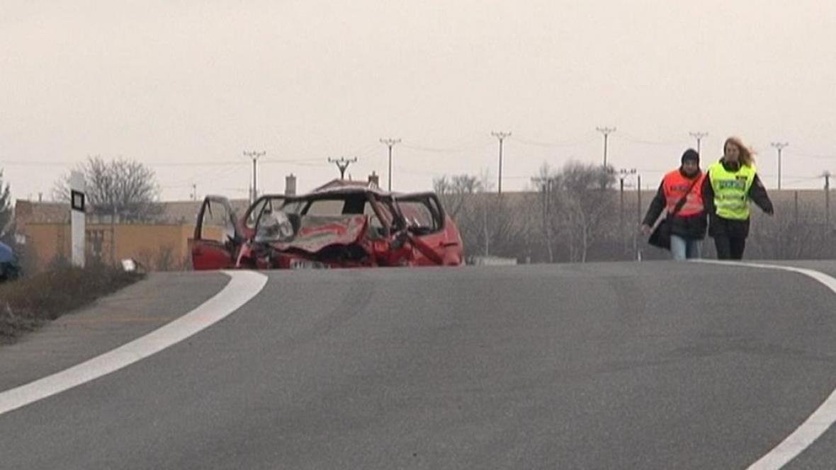 Nehoda u Bučovic