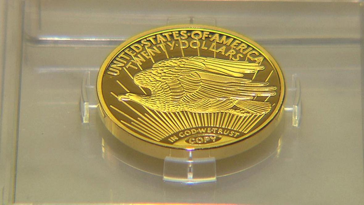 Kopie mince Double Eagle