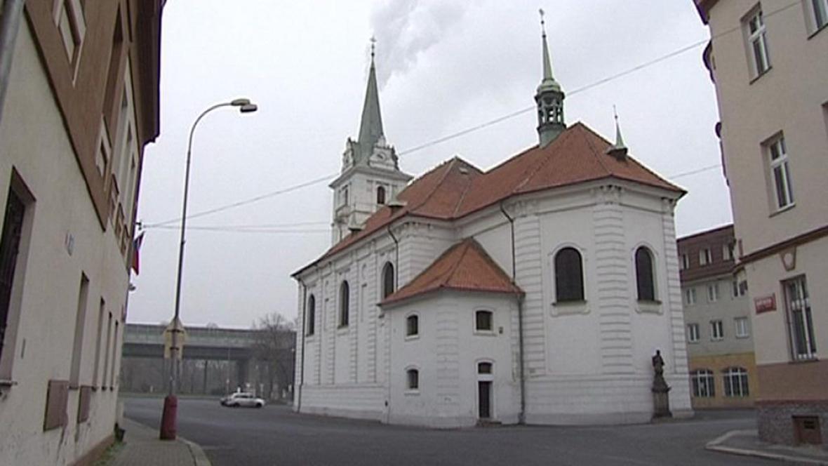 Kostel v Trmicích