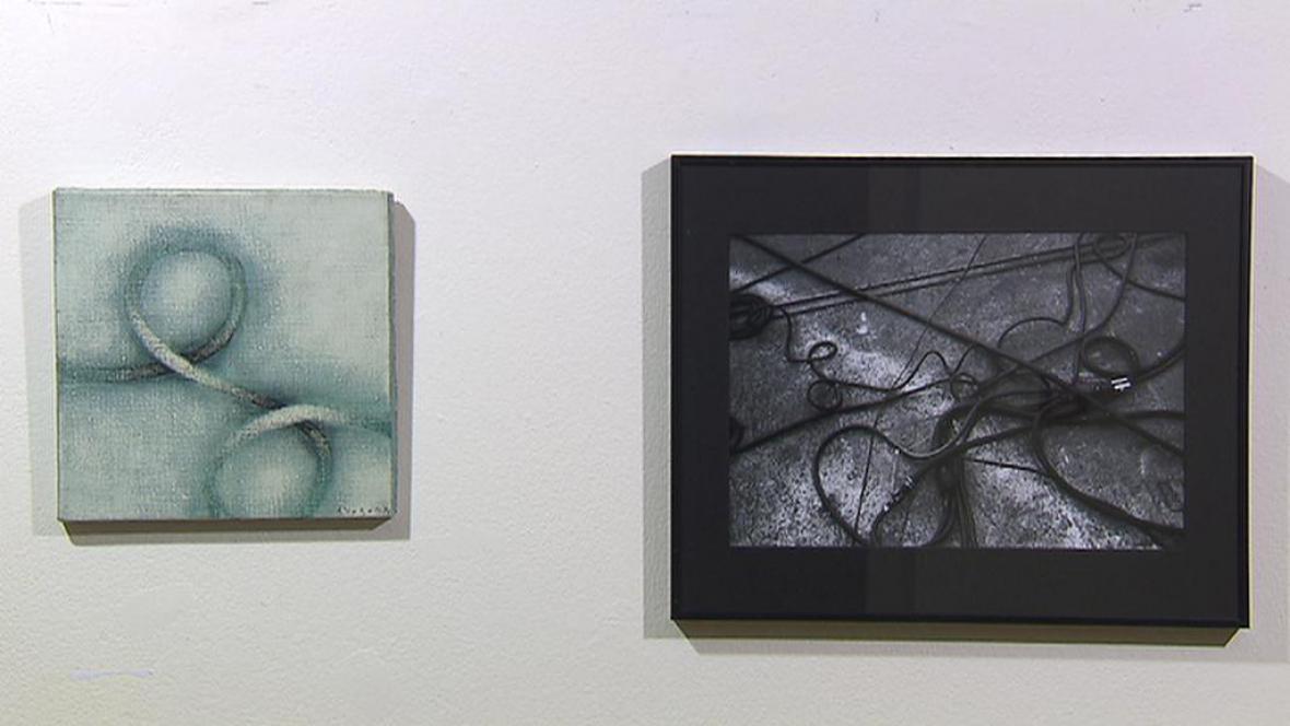 Výstava prací Jindřicha Šreita a Jana Svobody