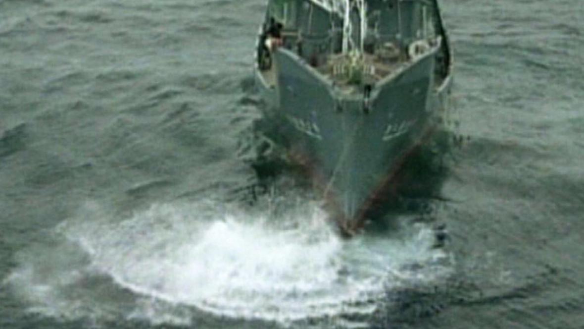 Japonská velrybářská loď