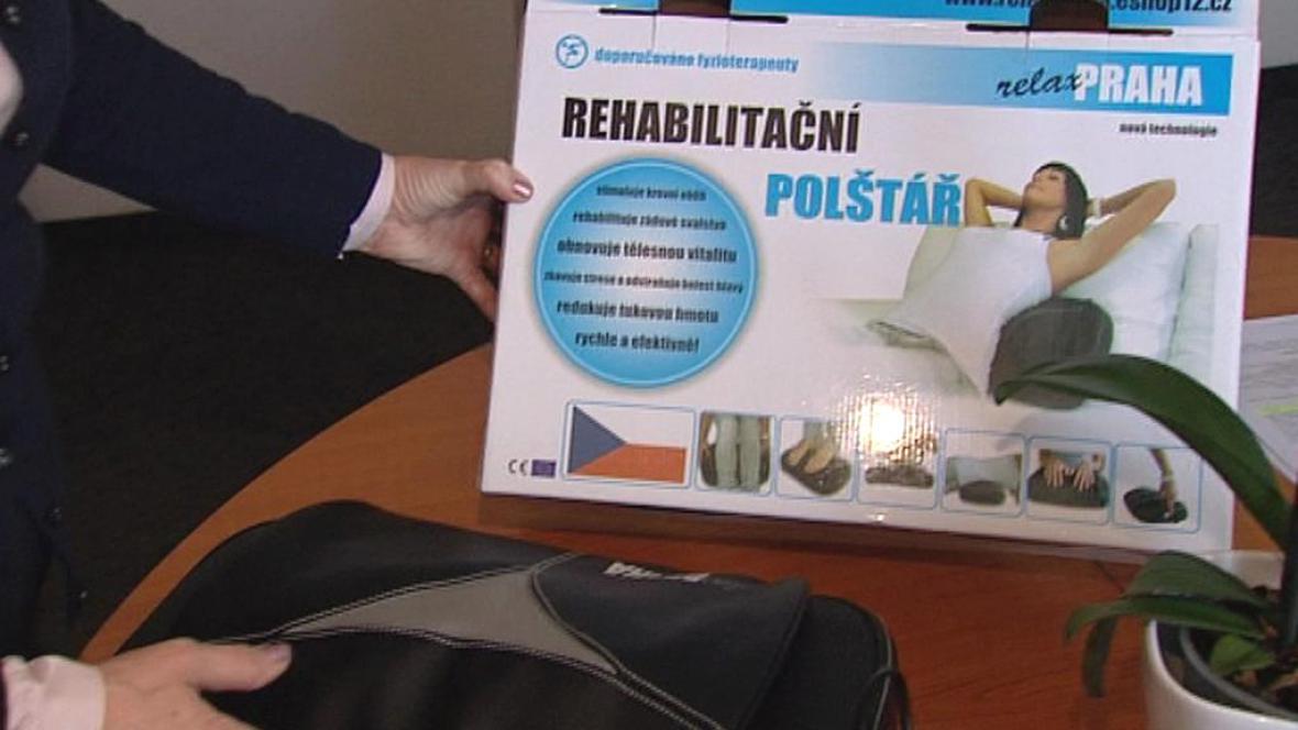 Rehabilitační polštář