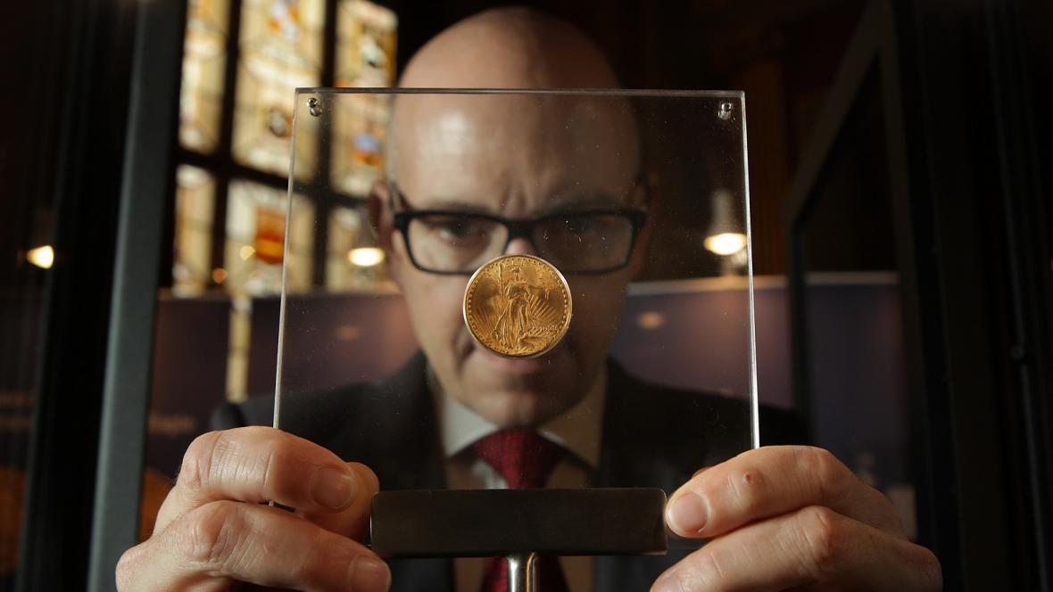 Zlatá mince Double Eagle