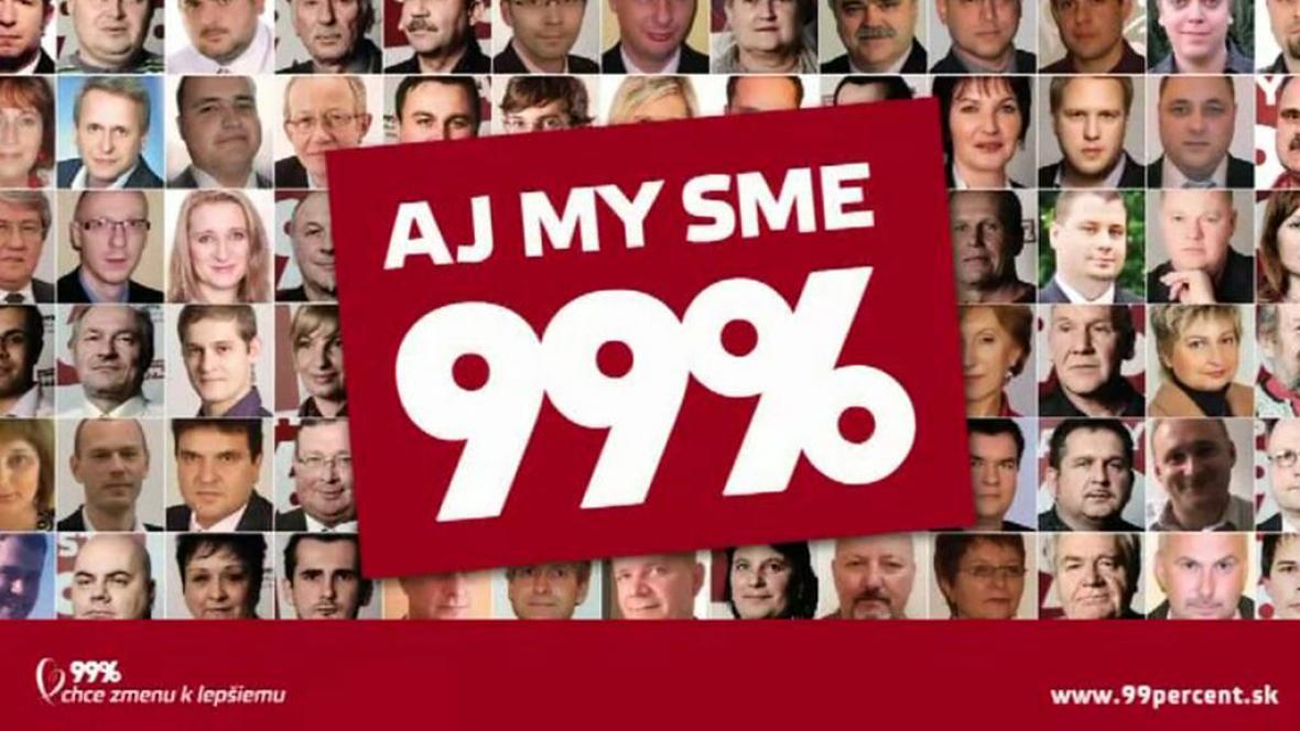 Kampaň 99%-občanský hlas