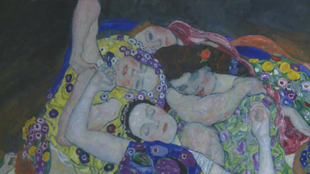 Gustav Klimt / Panna (detail)