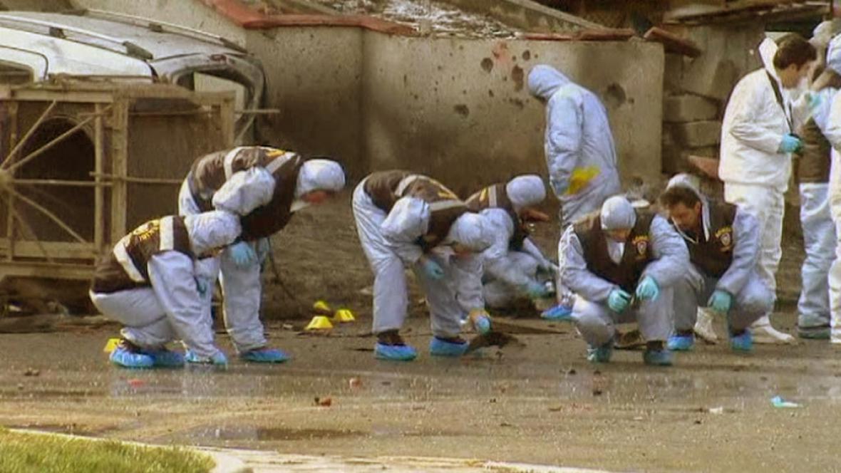 Turecká policie vyšetřuje výbuch nálože v Ankaře