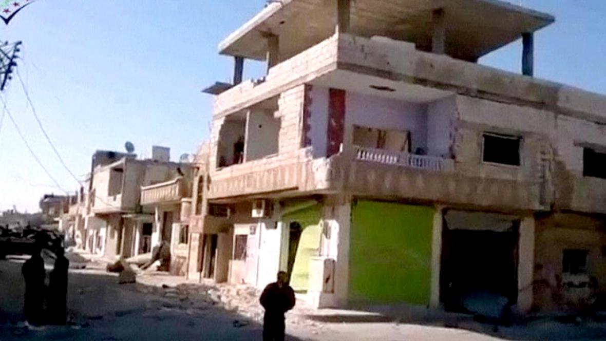 Následky nepokojů v Sýrii
