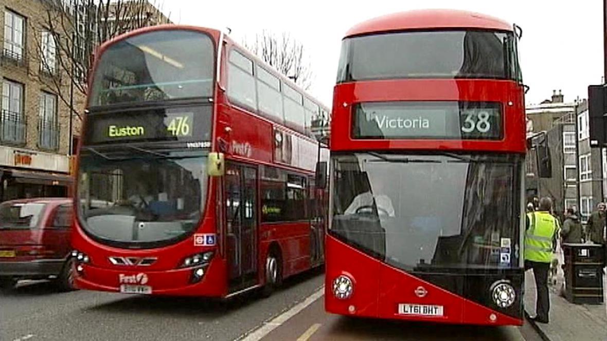 Londýské doubledeckery