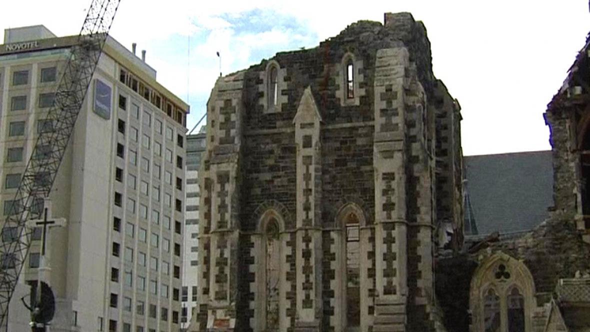 Katedrála v Christchurch