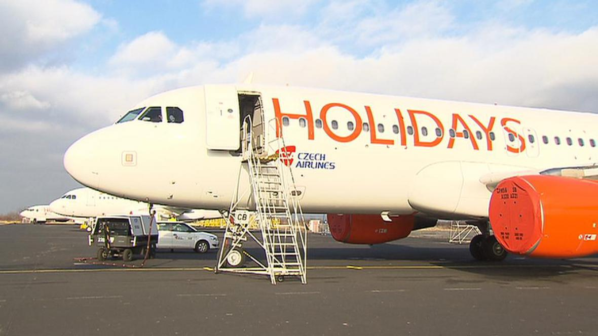 Letadla Holidays Czech Airlines