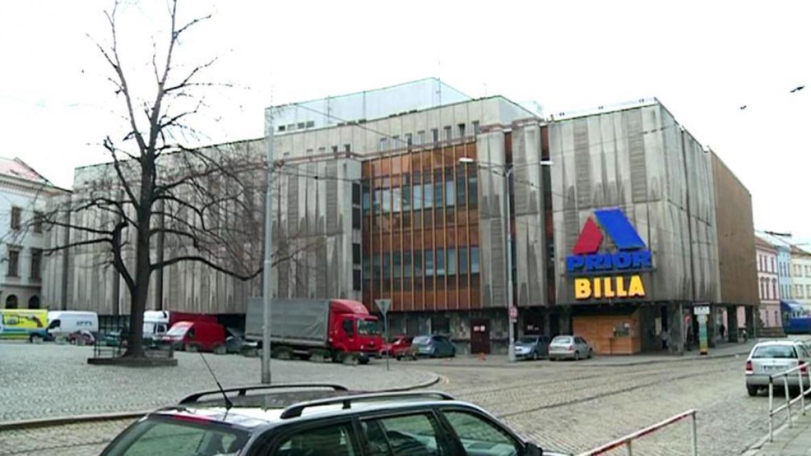 Obchodní dům Prior v Olomouci
